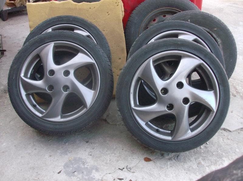 "[ Vendo ] Jantes 15"" SIROCCO - Peugeot 206 HDI Jantes10"