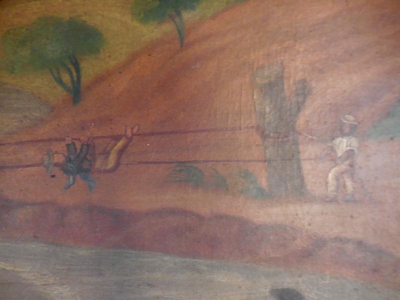 huile sur toile marouflé sur carton  Equateur  Dscn1323