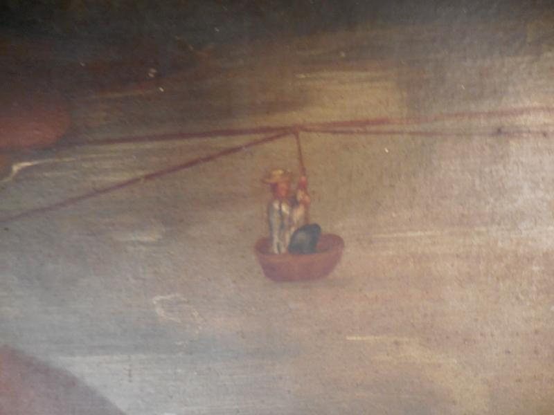 huile sur toile marouflé sur carton  Equateur  Dscn1330