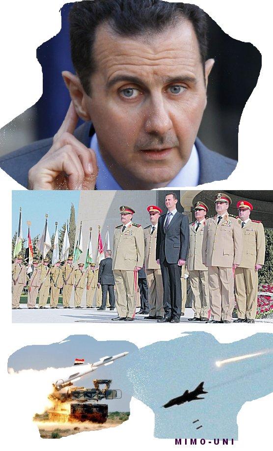 Assad réconforté , la menace avait débuté sur l'enthousiasme et achevé par des formulations evasives Mimoun34