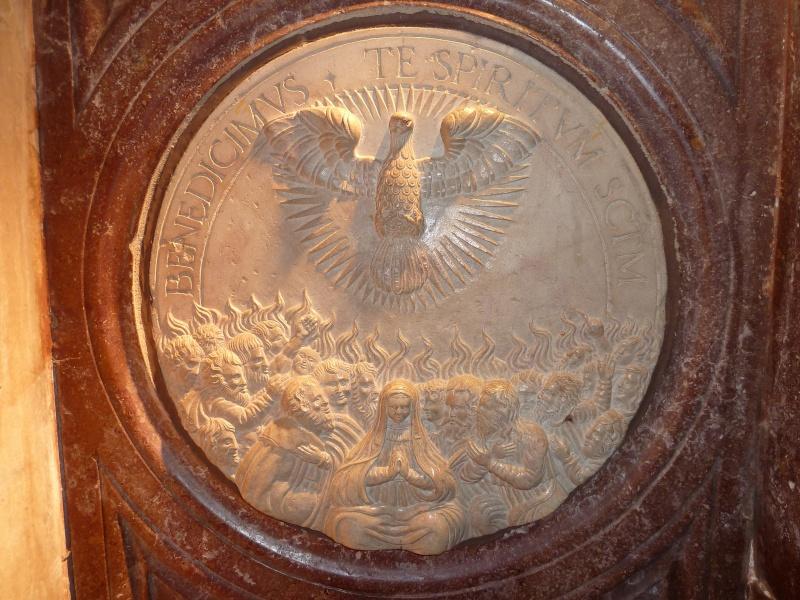 Chapelle Alchimique en l'Eglise de Pesmes (haute Saône 70) P1020122