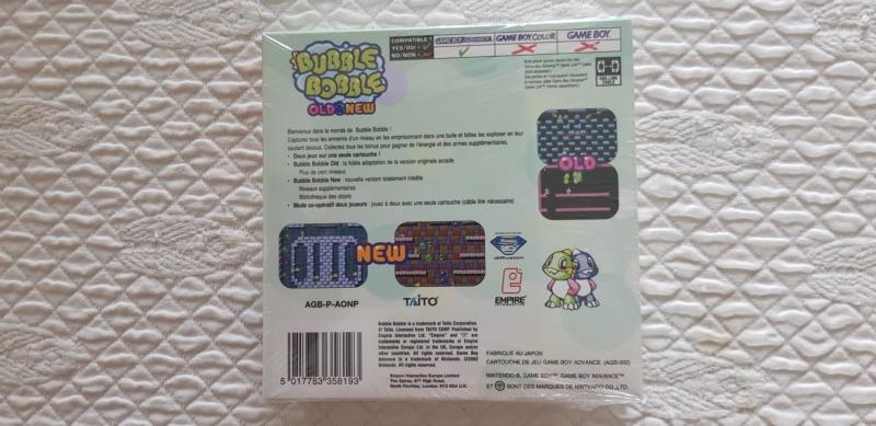 VDS Bubble Bobble GBA 20190923