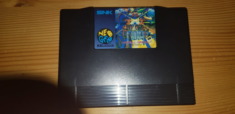VDS Neo Geo AES JAP: Galaxy Fight 20191114