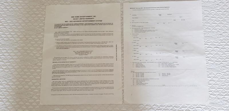 VENDU Phone Card, Certificat Garantie Gold System, Certificat NEO-O 20200715