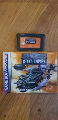 VDS Jeu GBA: Steel Empire 20200827