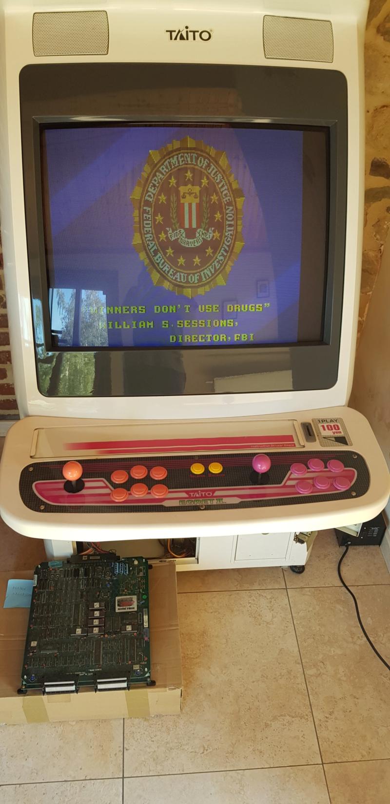 [VENDU] PCB Double Dragon II 20200911