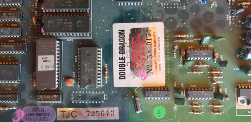 [VENDU] PCB Double Dragon II 20200918