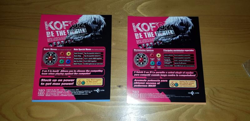 [Vendus] MVS Full Kit KOF98, KOF02 20210177