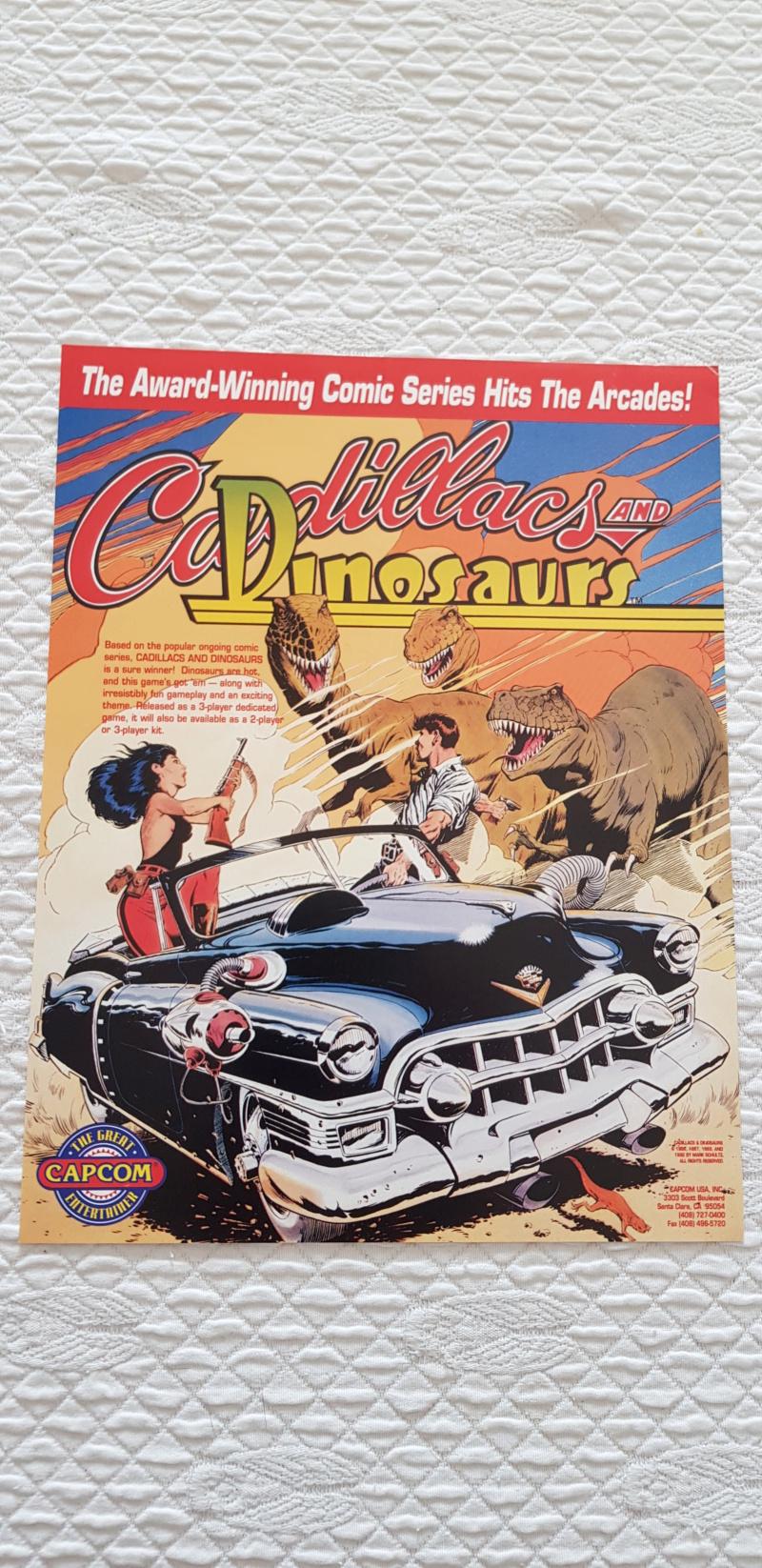 [Vendu] Cadillacs and Dinosaurs Cadillacs Kyouryuu-Shinseiki 20210326