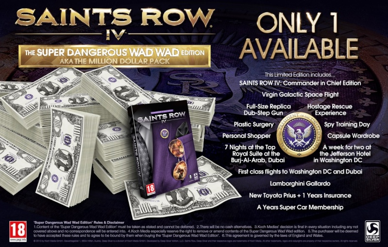 SAINT'S ROW IV collector 10261610