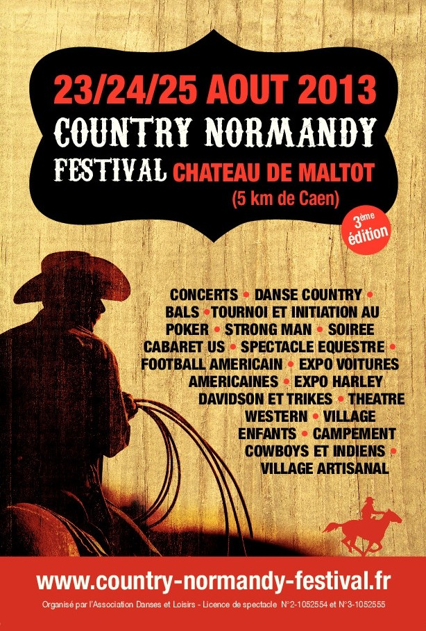 country normandy festival Affich10