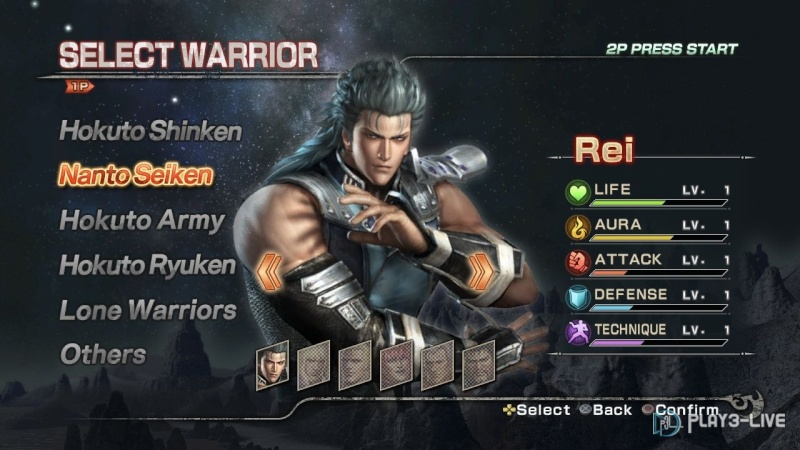 Fist of the North Star : Ken's Rage 2 Fist-o13