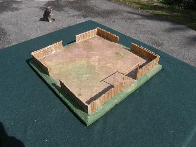 Camp romain/Haut moyen-âge modulable en brochettes de bambou ! P9140010