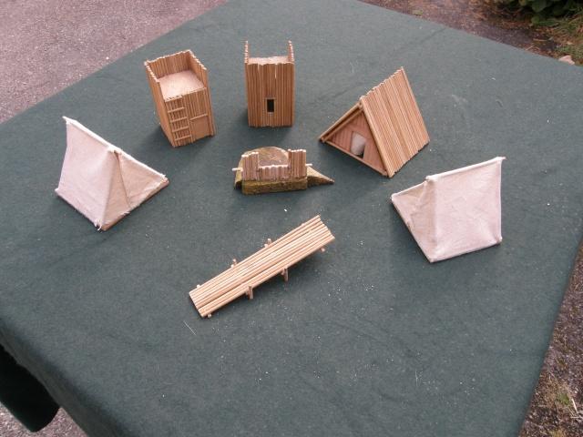 Camp romain/Haut moyen-âge modulable en brochettes de bambou ! P9140011