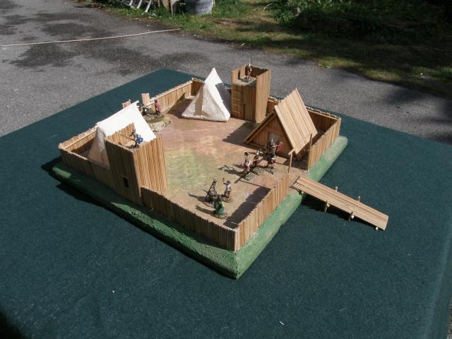 Camp romain/Haut moyen-âge modulable en brochettes de bambou ! P9140013