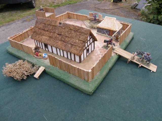 Camp romain/Haut moyen-âge modulable en brochettes de bambou ! P9140014
