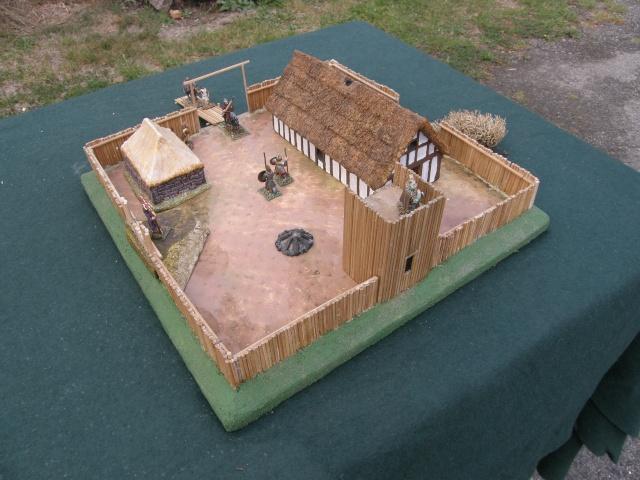 Camp romain/Haut moyen-âge modulable en brochettes de bambou ! P9140015