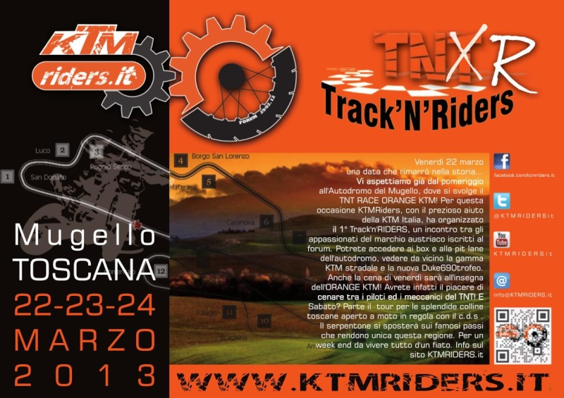 Raduno KTM riders 22-23-24 Marzo Tnt20m10