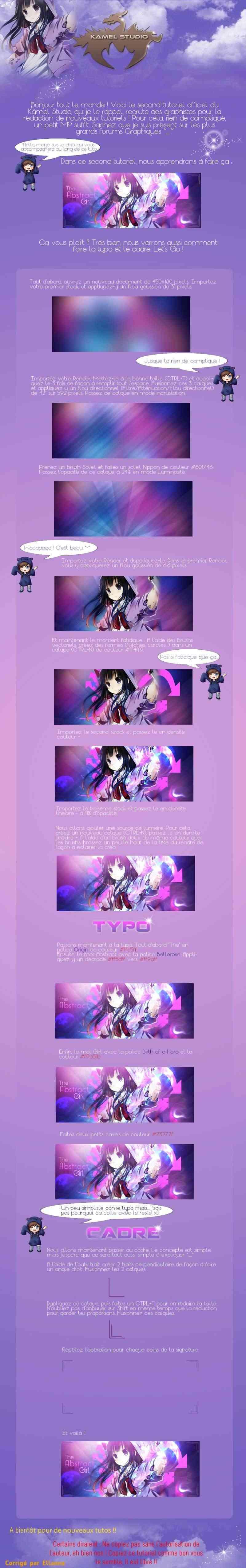 Abstract Girl | Kamel38 (tuto libre du net) Nksv010