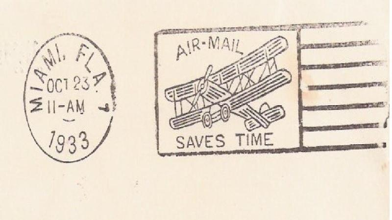 Südamerikafahrt 1930, Post nach Lakehurst - Seite 2 Miami10