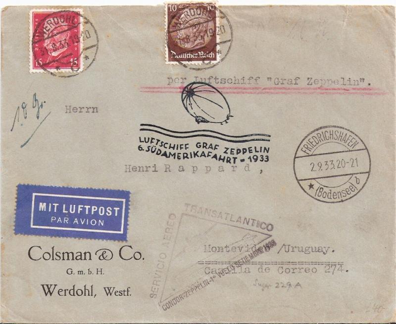 Südamerikafahrten LZ 127 1933 Scanne16