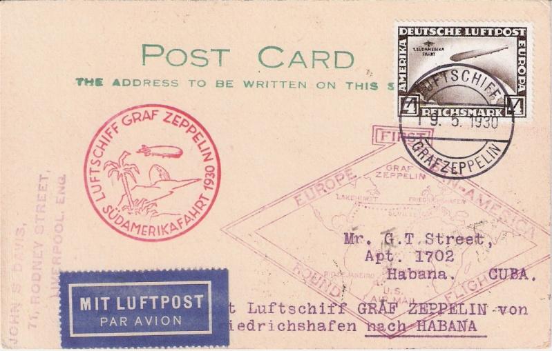 nach - Südamerikafahrt 1930, Post nach Lakehurst - Seite 2 Sieger14