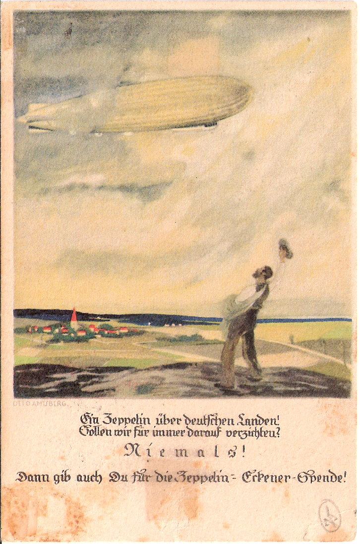 Zeppelinpost der Besatzung - Seite 2 Sieger17