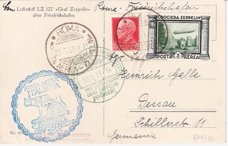 Zeppelinpost des LZ 127 - Seite 7 Sieger21