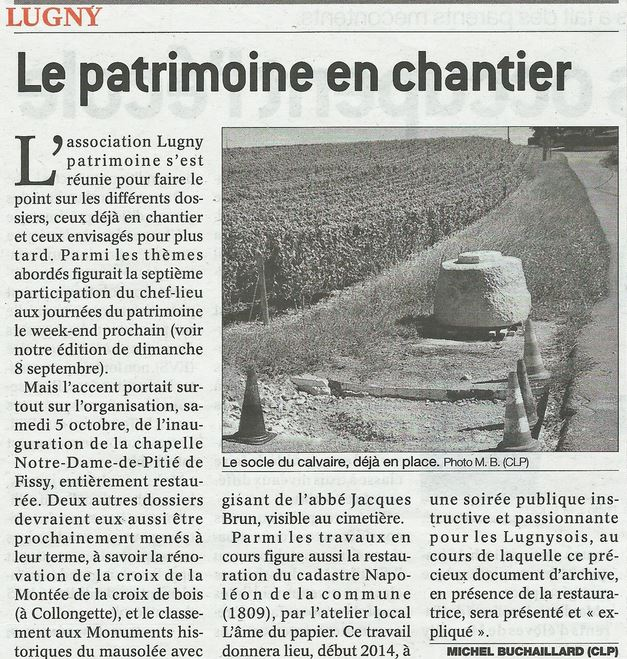 Le Patrimoine en chantier Lugny11