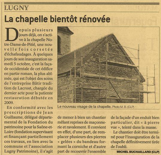 la Chapelle bientôt rénovée Lugny_10