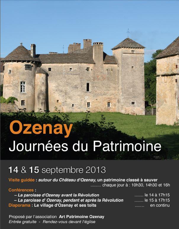 Journée du Patrimoine à Ozenay Ozenay10