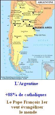 L'Argentine, +88% de catholiques Argent10