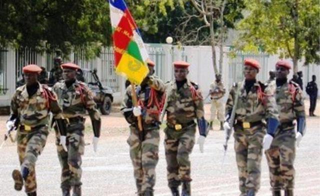 Armées de la République centrafricaine  0b29