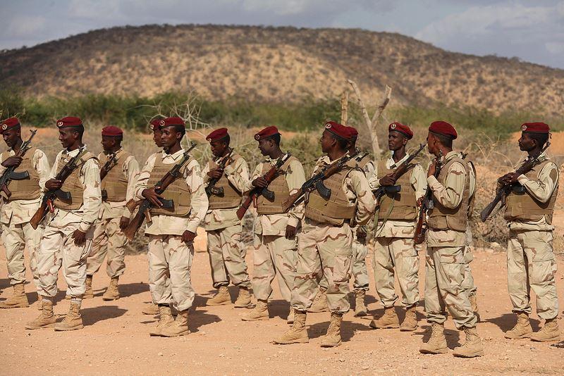 Armée Somalienne / Military of Somalia 1120