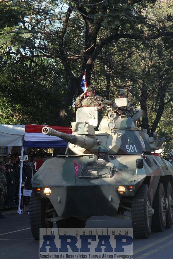 Armée paraguayenne 1a1711