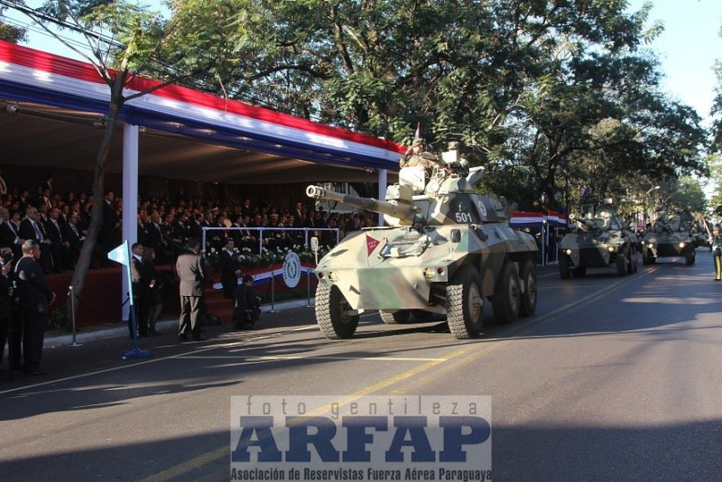 Armée paraguayenne 1a1810