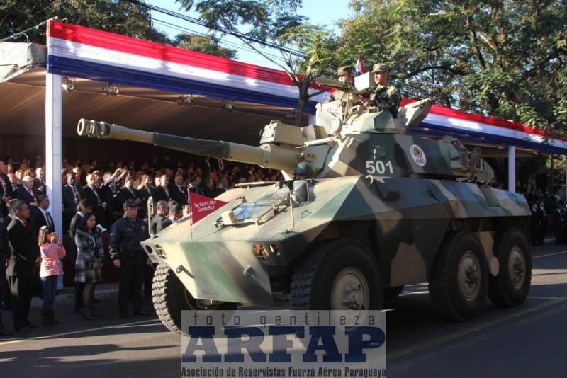 Armée paraguayenne 1a1911