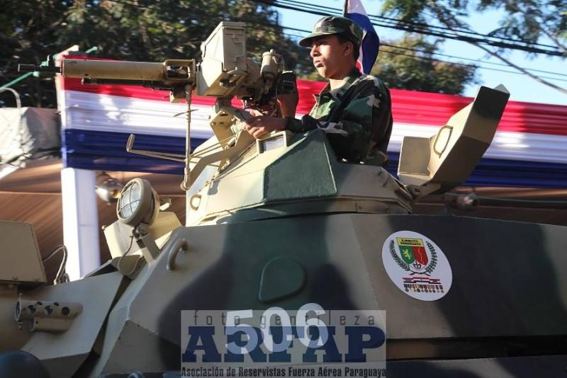 Armée paraguayenne 1a2011