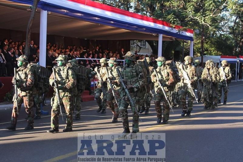 Armée paraguayenne 1a3210