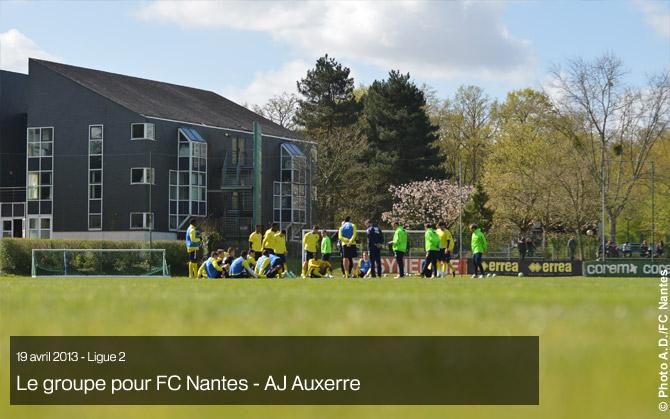 J33 - Samedi 20 avril (14h00) : FC NANTES - AJ AUXERRE : 1-1 Groupe12