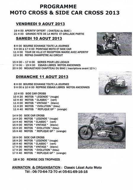 Calendrier 2013 moto et side car cross vintage Cci13010