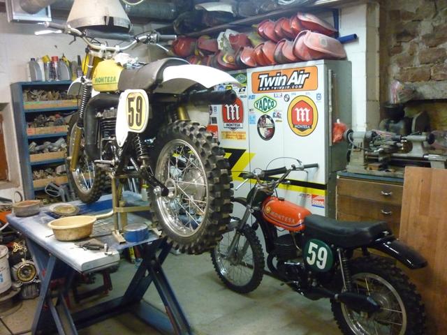 Calendrier 2013 moto et side car cross vintage P1080010