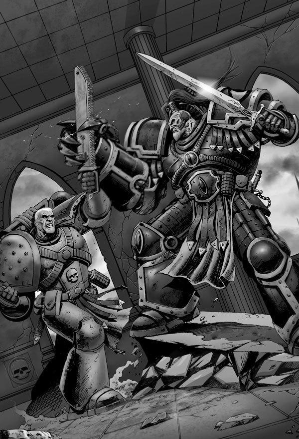 [W30K] Legiones Astartes XVI : Luna Wolves / Sons of Horus 19567_10