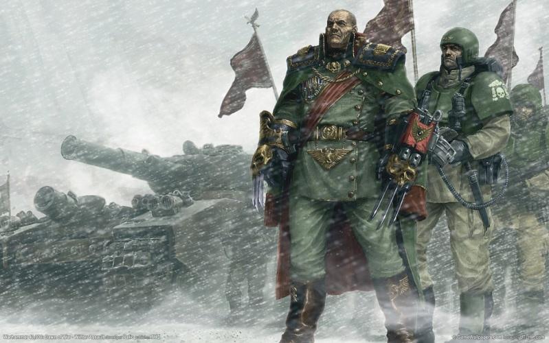 [W40K] Collection d'images : La Garde Impériale Cadien10