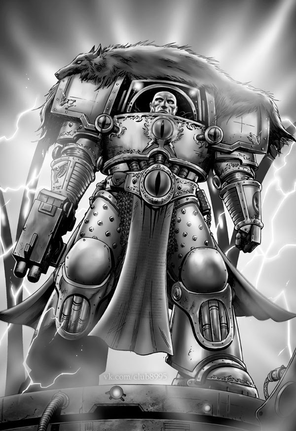 [W30K] Legiones Astartes XVI : Luna Wolves / Sons of Horus Chaos_10