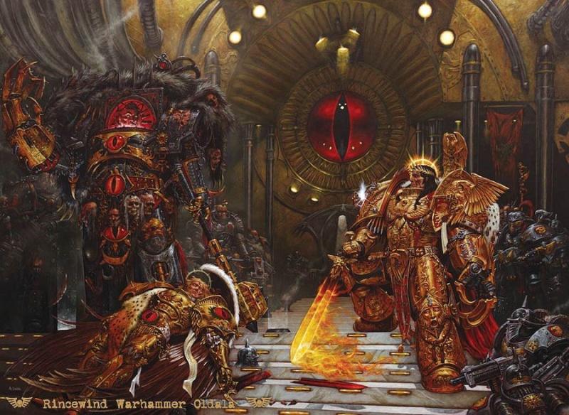 [W30K] Legiones Astartes XVI : Luna Wolves / Sons of Horus Empero10