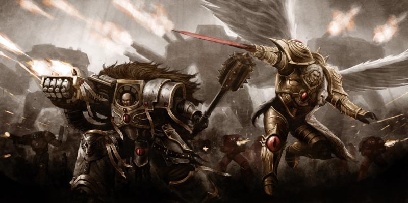 [W30K] Legiones Astartes XVI : Luna Wolves / Sons of Horus Horus_11