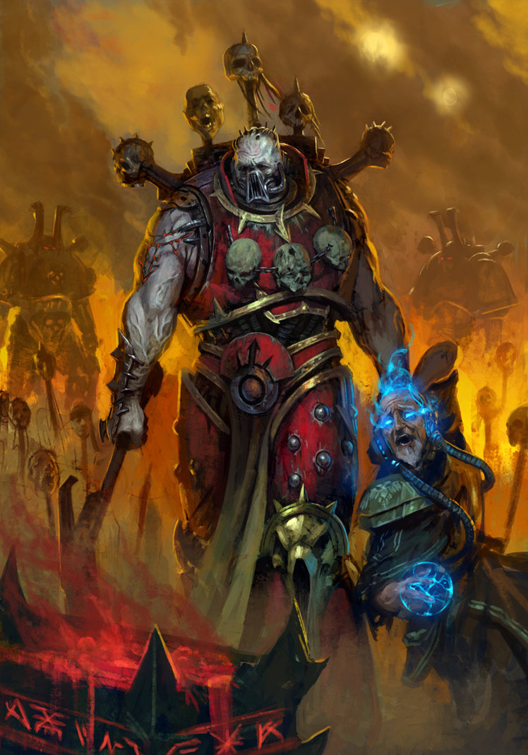 [W40K] Collection d'images : Space Marines du Chaos One_mo10