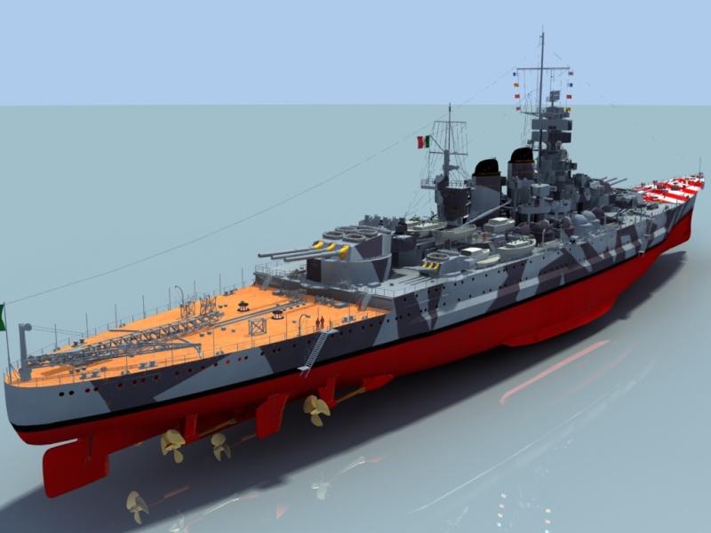 Regia Marina Italian Heavy Cruiser 'Pola' Roma3510
