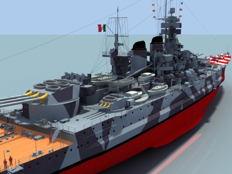 Regia Marina Italian Heavy Cruiser 'Pola' Roma3610